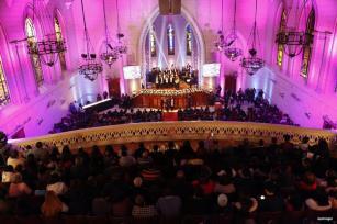 EL CAIRO, EGIPTO: La misa de la Navidad