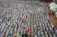 Marruecos - Cientos de personas en la azala del fin de ramadán
