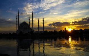 Adana, TURQUÍA - Espectacular imagen para una postal