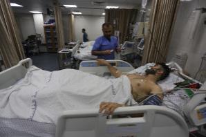Palestina sucumbe a los ataques de Israel durante las protestas del viernes en Gaza