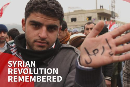 Recordando el inicio de la Revolución Siria