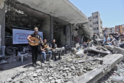 Un concierto anti-Eurovisión transmite el 'Mensaje de Gaza'