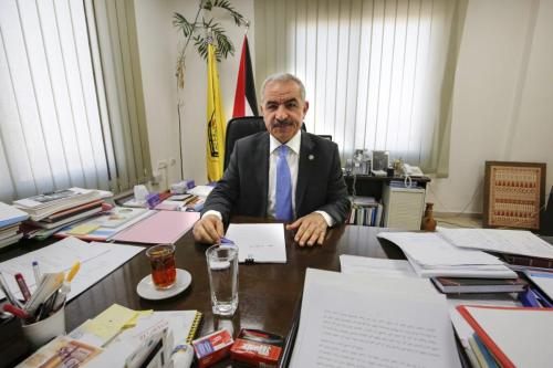 El primer ministro palestino pide a las potencias internacionales que…