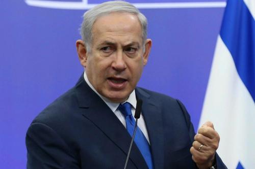 Netanyahu no quiere que la Autoridad Palestina colapse