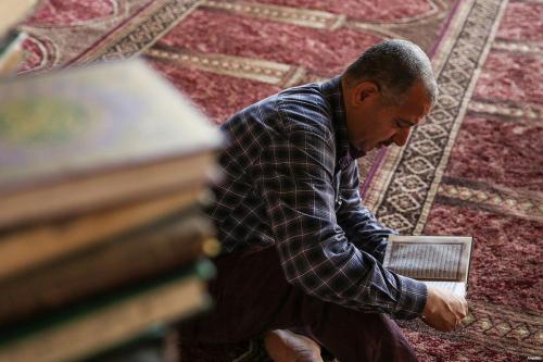Un Corán de 800 años atrae visitantes al norte de…