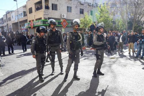 Israel libera al ministro de asuntos palestinos de Jerusalén