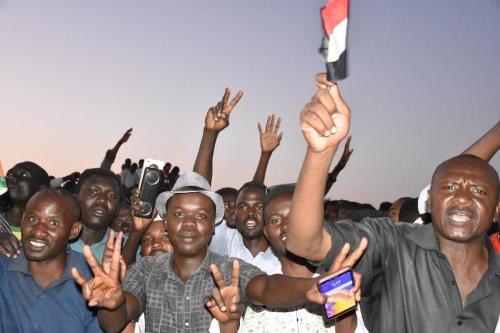 La oposición sudanesa rechaza la intervención extranjera