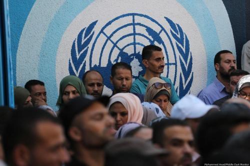 Turquía anuncia 10 millones de dólares para UNRWA