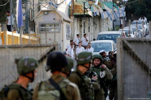 """Los colonos israelíes hacen de Hebrón """"un infierno"""" para los…"""