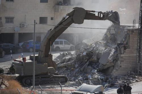 """Hamás: """"La demolición israelí de los hogares palestinos en Jerusalén…"""