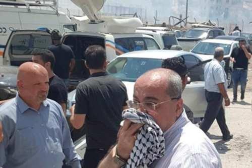 Israel ataca a manifestantes en un área de Jerusalén recién…