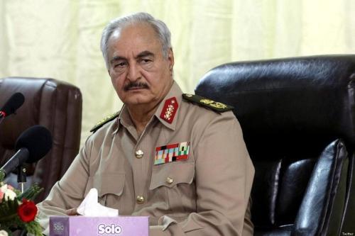 Haftar de Libia dice que quiere controlar Trípoli, no el…