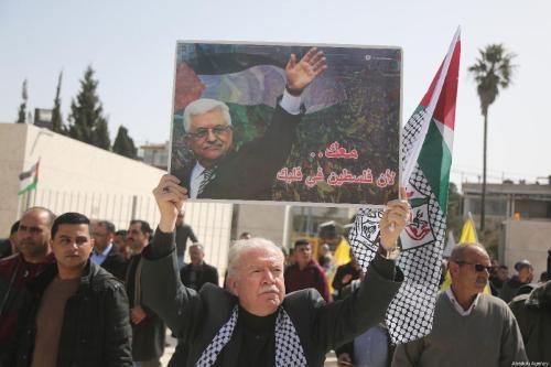Abbas se prepara para su gira por Cisjordania