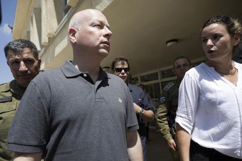 """Los palestinos describen la renuncia de Greenblatt como un """"fracaso""""…"""