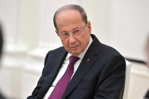 """Aoun advierte: """"Israel tendrá consecuencias por cualquier ataque al Líbano"""""""