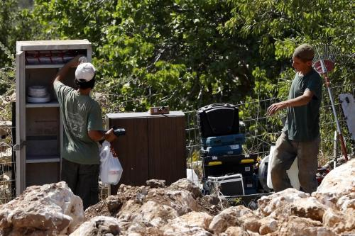 Israel roba tierra palestina en Belén para expandir asentamientos