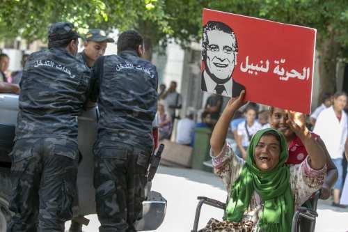 El candidato presidencial tunecino permanecerá en la cárcel