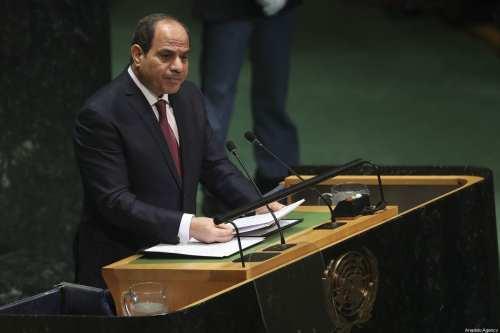 """Sisi: """"Los extranjeros están representando a Egipto como un enemigo…"""