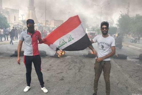 Las protestas se reanudan en la Ciudad de Sadr en…
