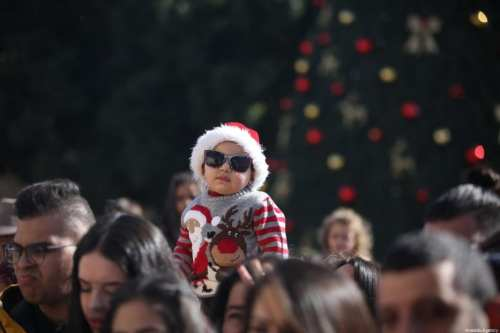 Belén celebra la Navidad