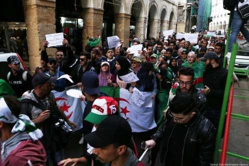 Campaña de detención masiva contra manifestantes en contra de las…