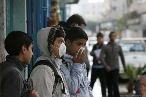 5 palestinos han muerto de gripe porcina desde septiembre