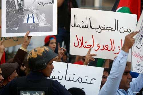 Jordania recibe el primer suministro de gas natural de Israel