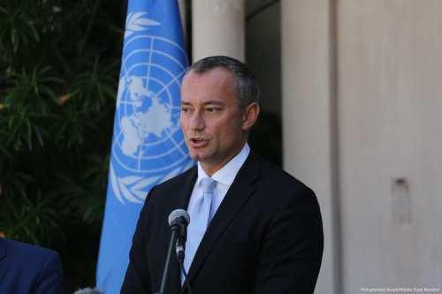 Enviado de la ONU advierte a Israel contra la anexión…