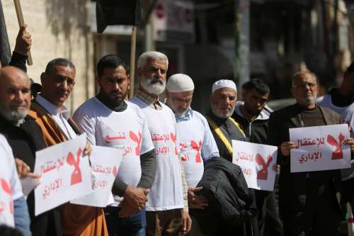 Informe: Israel emitió 1.022 órdenes de detención administrativa contra palestinos…