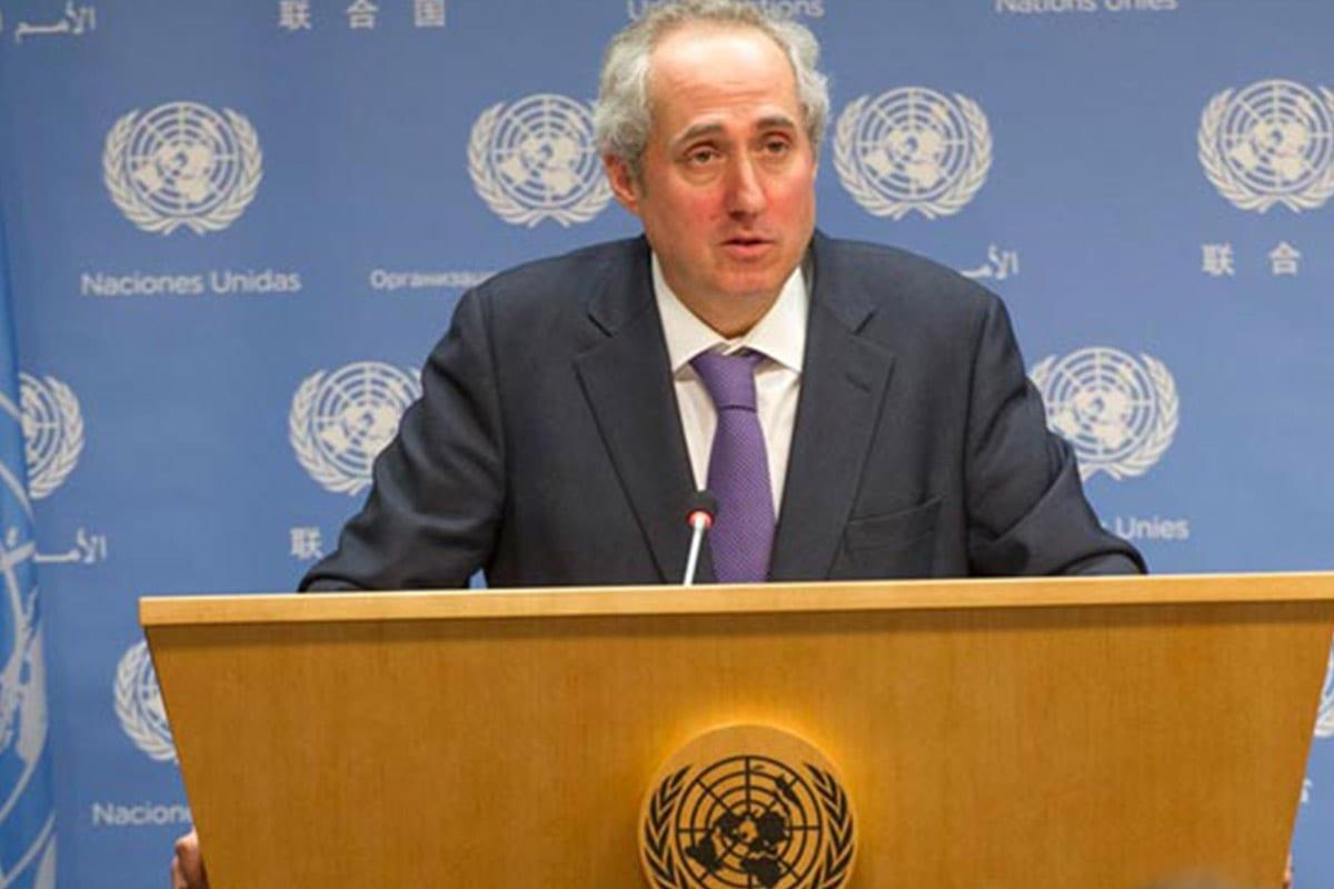 Portavoz del Secretario General de la ONU, Stéphane Dujarric [Wikipedia]