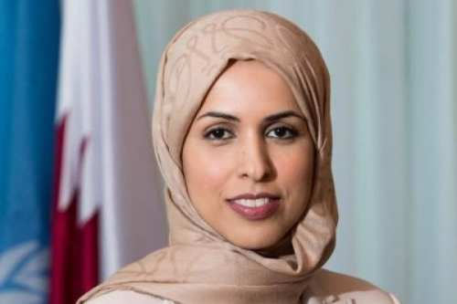 La enviada de Qatar ante la ONU reitera el llamado…