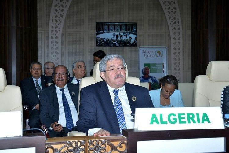 Algerian Prime Minister Ahmed Ouyahia