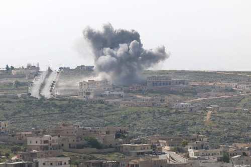 Rusia realiza 'más de 120' ataques aéreos contra Alepo