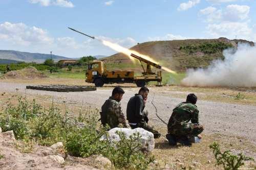 La oposición siria avanza en Nairab
