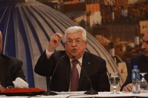 Conversación telefónica entre el presidente palestino y alto cargo europeo