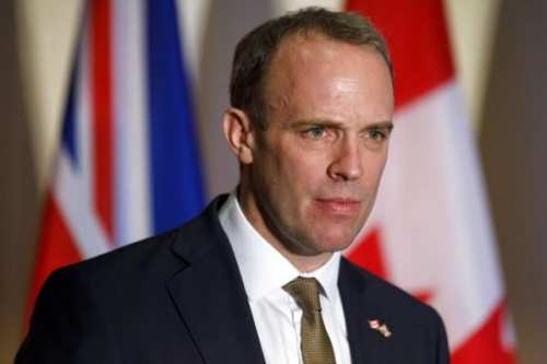 """Embajadores árabes piden a Gran Bretaña que rechace el """"acuerdo…"""
