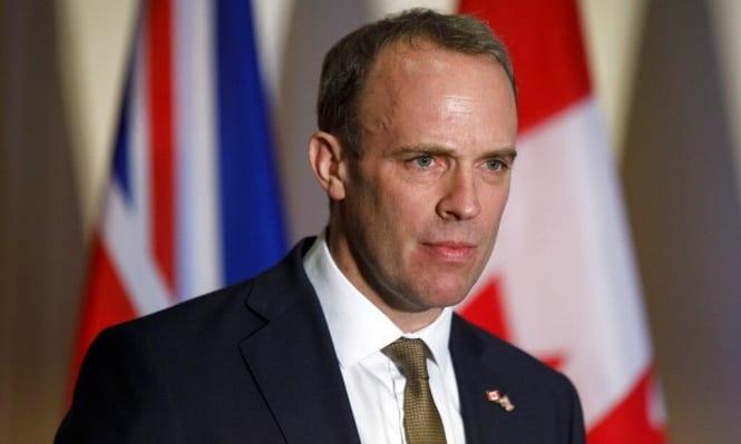 Dominic Raab, Secretario de Relaciones Exteriores de Gran Bretaña