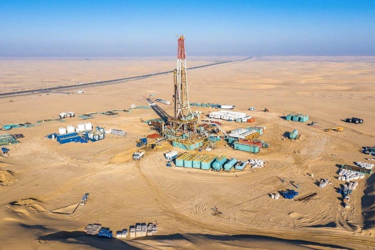 Un depósito de gas en los EAU, 5 de febrero de 2020 [Twitter]