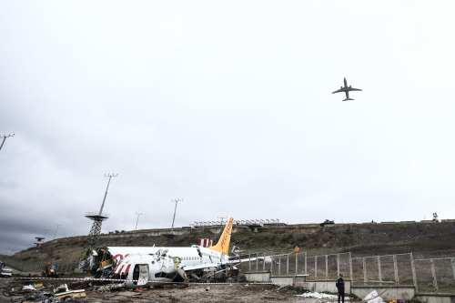 Turquía: Piloto arrestado por derrapar su avión en la pista…