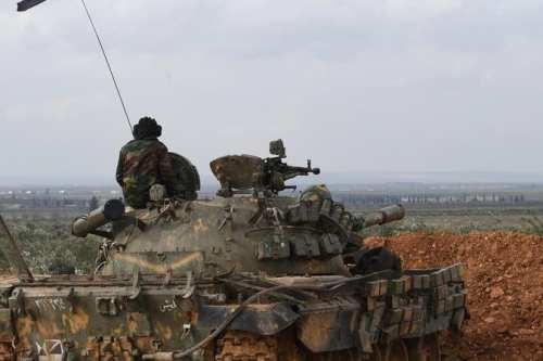 El ejército sirio recupera 600 km2 en Idlib y Alepo