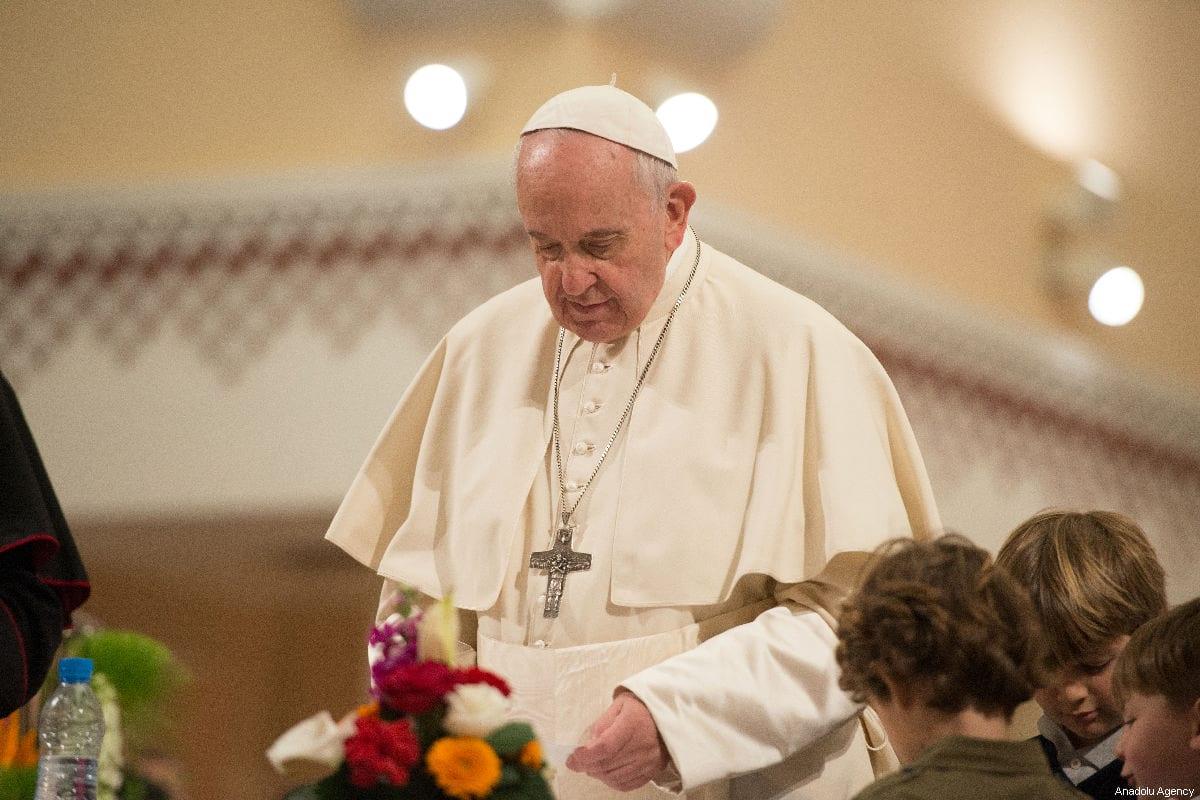 Papa Francisco apoya llamado a cese al fuego global inmediato