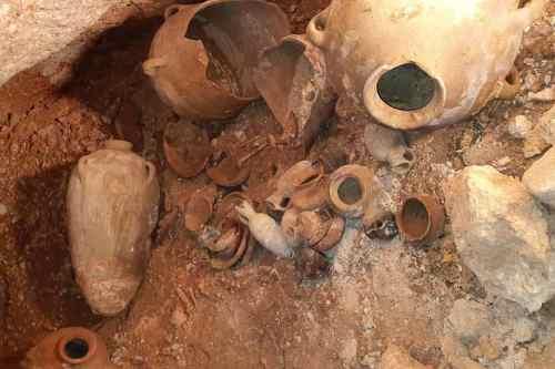 Cementerio de la Edad de Bronce descubierto en un pueblo…