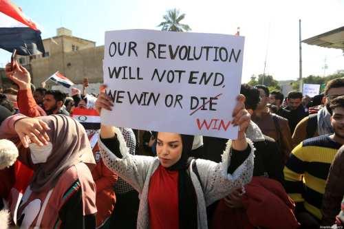 Iraq investigará la tortura y desaparición de los manifestantes
