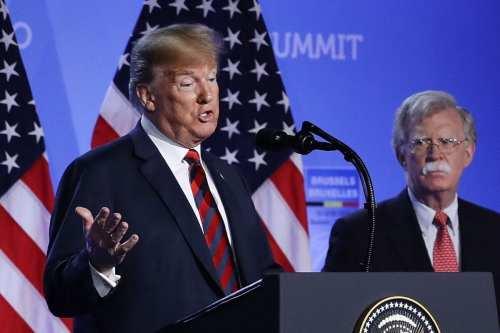 """John Bolton: """"Un segundo mandato de Trump es un peligro…"""