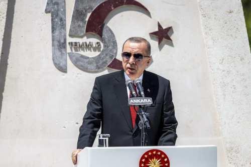 """Erdogan: """"Las operaciones de Egipto en Libia son ilegales, así…"""