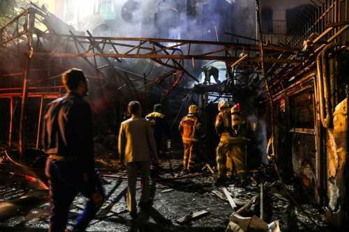 El atentado en una clínica de Teherán mata a 19…