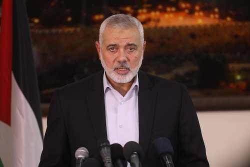 El jefe de Hamas revela conversaciones directas con Fatah