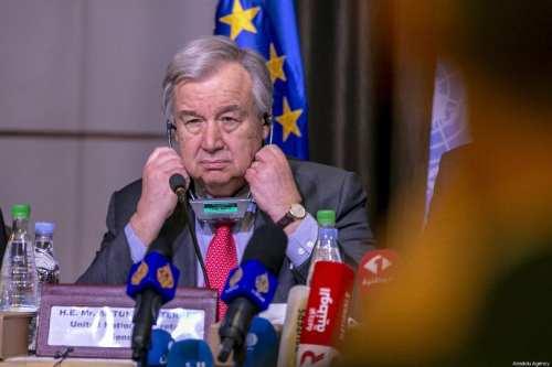 Naciones Unidas nombrará un enviado especial para negociar la paz…