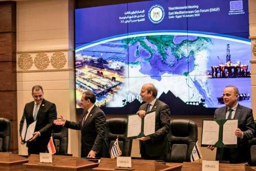 El Foro del Gas del Mediterráneo Oriental se convirtió oficialmente…