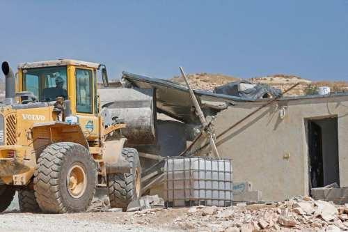 Miles de casas palestinas se enfrentan a la demolición mientras…